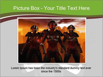 3D Steel Robot PowerPoint Templates - Slide 15