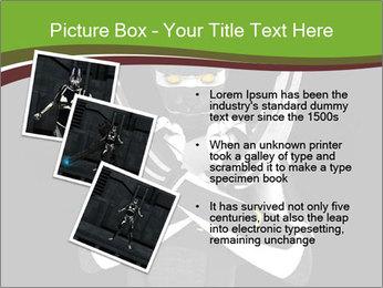 3D Steel Robot PowerPoint Templates - Slide 17