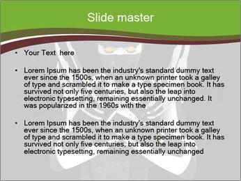 3D Steel Robot PowerPoint Templates - Slide 2