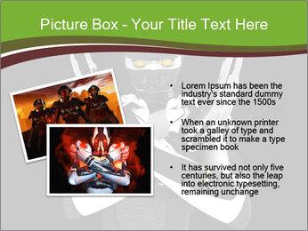 3D Steel Robot PowerPoint Templates - Slide 20