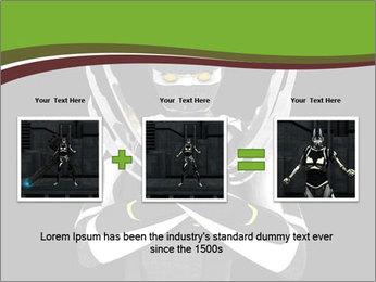 3D Steel Robot PowerPoint Templates - Slide 22