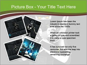 3D Steel Robot PowerPoint Templates - Slide 23