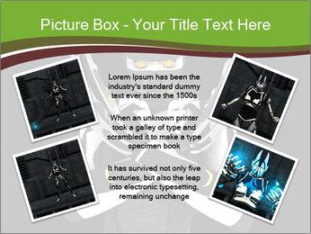 3D Steel Robot PowerPoint Templates - Slide 24