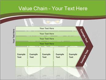 3D Steel Robot PowerPoint Templates - Slide 27