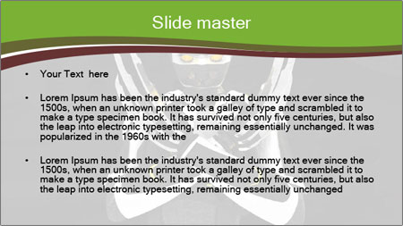 3D Steel Robot PowerPoint Template - Slide 2