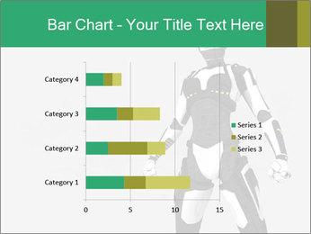 3D Female Robot Model PowerPoint Templates - Slide 52