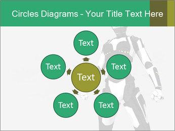 3D Female Robot Model PowerPoint Templates - Slide 78