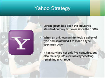 Gym Coach Working with Client PowerPoint Templates - Slide 11