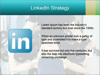 Gym Coach Working with Client PowerPoint Templates - Slide 12