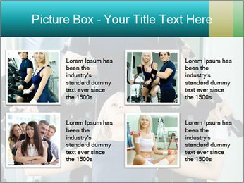 Gym Coach Working with Client PowerPoint Templates - Slide 14