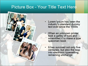 Gym Coach Working with Client PowerPoint Templates - Slide 17