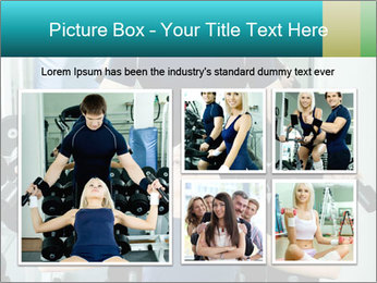 Gym Coach Working with Client PowerPoint Templates - Slide 19