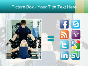 Gym Coach Working with Client PowerPoint Templates - Slide 21