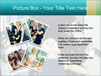 Gym Coach Working with Client PowerPoint Templates - Slide 23