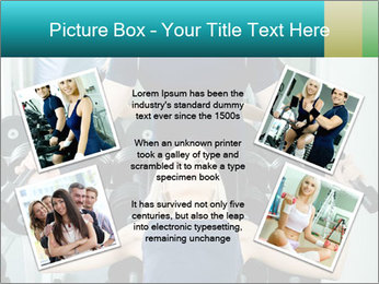 Gym Coach Working with Client PowerPoint Templates - Slide 24