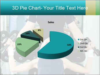 Gym Coach Working with Client PowerPoint Templates - Slide 35