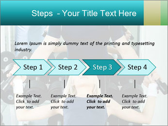 Gym Coach Working with Client PowerPoint Templates - Slide 4