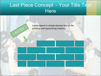 Gym Coach Working with Client PowerPoint Templates - Slide 46
