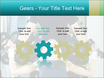 Gym Coach Working with Client PowerPoint Templates - Slide 48
