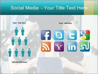 Gym Coach Working with Client PowerPoint Templates - Slide 5