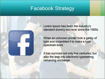 Gym Coach Working with Client PowerPoint Templates - Slide 6