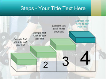 Gym Coach Working with Client PowerPoint Templates - Slide 64