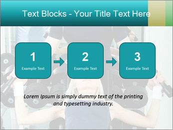 Gym Coach Working with Client PowerPoint Templates - Slide 71