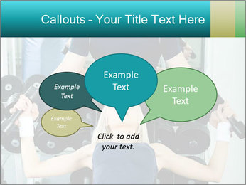 Gym Coach Working with Client PowerPoint Templates - Slide 73