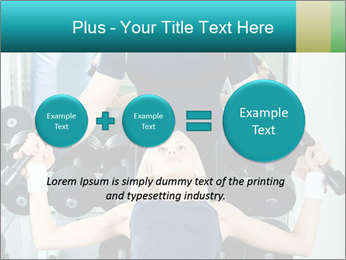 Gym Coach Working with Client PowerPoint Templates - Slide 75
