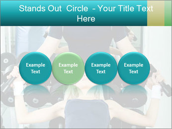 Gym Coach Working with Client PowerPoint Templates - Slide 76