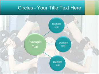 Gym Coach Working with Client PowerPoint Templates - Slide 79