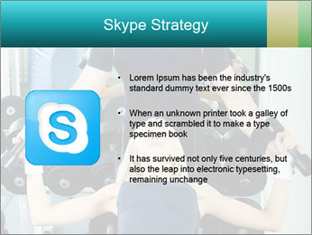 Gym Coach Working with Client PowerPoint Templates - Slide 8