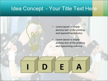 Gym Coach Working with Client PowerPoint Templates - Slide 80
