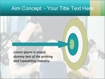 Gym Coach Working with Client PowerPoint Templates - Slide 83