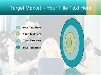 Gym Coach Working with Client PowerPoint Templates - Slide 84