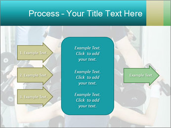Gym Coach Working with Client PowerPoint Templates - Slide 85