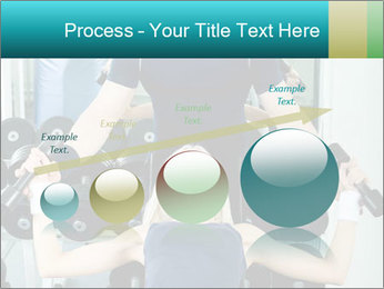 Gym Coach Working with Client PowerPoint Templates - Slide 87