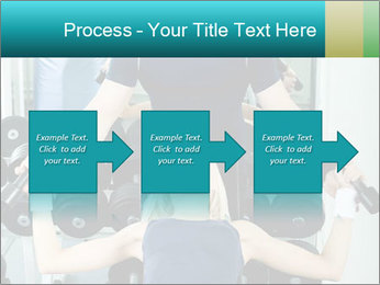 Gym Coach Working with Client PowerPoint Templates - Slide 88