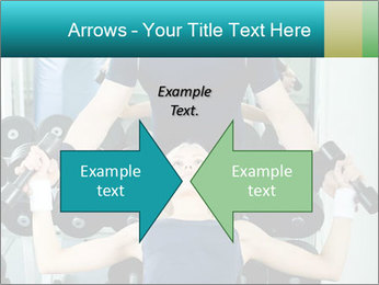 Gym Coach Working with Client PowerPoint Templates - Slide 90