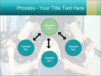 Gym Coach Working with Client PowerPoint Templates - Slide 91