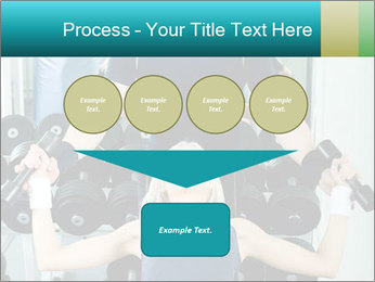 Gym Coach Working with Client PowerPoint Templates - Slide 93