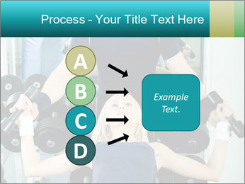 Gym Coach Working with Client PowerPoint Templates - Slide 94