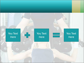 Gym Coach Working with Client PowerPoint Templates - Slide 95