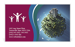 0000063266 Business Card Template