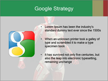 Female Robot PowerPoint Template - Slide 10