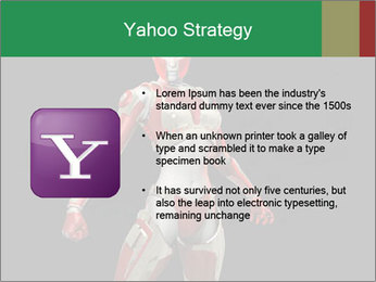 Female Robot PowerPoint Template - Slide 11