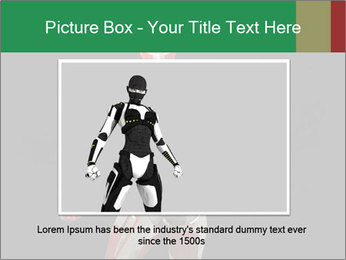 Female Robot PowerPoint Template - Slide 16