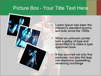 Female Robot PowerPoint Template - Slide 17