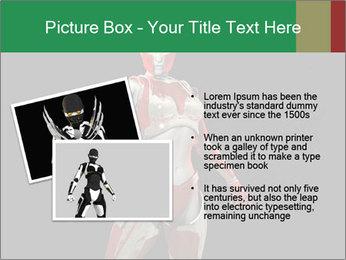 Female Robot PowerPoint Template - Slide 20