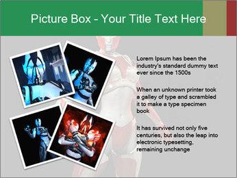 Female Robot PowerPoint Template - Slide 23